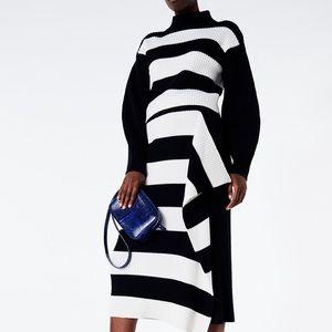 Tibi merino wool sweater and skirt set